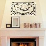 Wall Decal Personalized Family Last..