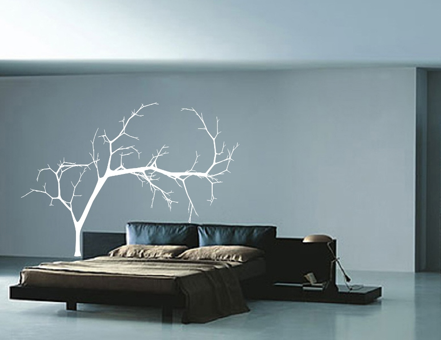 Bare Tree Style 4 Large Vinyl Wall Decal 22223