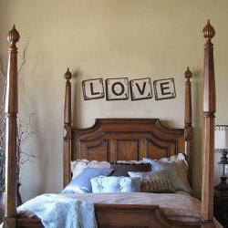 Love Scrabble Tiles Wall Decal 22140