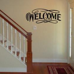 Wall Decal Welcome Vinyl Wall Decal 22069