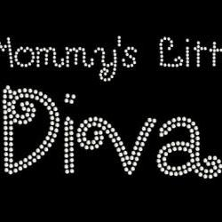 Rhinestone Transfer Mommys Little Diva 34035